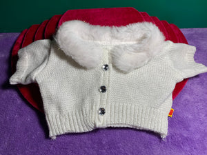White Sweater Fur Collar - Build-a-Bear Resale