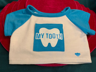 My Tooth Shirt - Build-a-Bear Resale