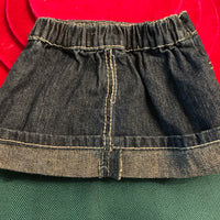 Denim Skirt with Sequin Accents, Build-a-Bear Resale