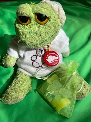 Froggie Custom Plushie Size Mojito Gummy Bears, Fake Food
