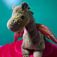 Fire, Ty Beanie Babies Dragon