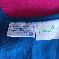 Girl Scout (Daisy) Smock / Apron  - Build-a-Bear Resale