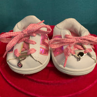 Pink and White Skechers Shoes - Build-a-Bear Resale