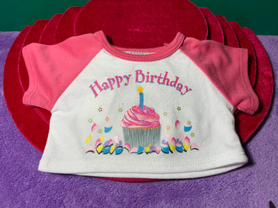 Happy Birthday Tshirt - Build-a-Bear Resale