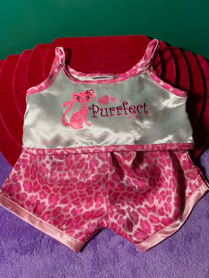 """Purrfect"" Pajama Set - Build-a-Bear Resale"