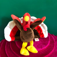 Glblet, Thanksgiving Turkey, Ty Beanie Baby