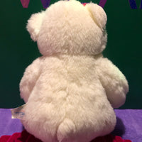 Celeste, White Teddy Bear Build-a-Bear