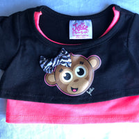 Justice / Monkey Tshirt - Build-a-Bear Resale