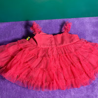 Pink Dress with Floral Accents - Build-a-Bear Resale