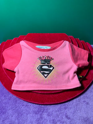 Pink Superman Shirt - Build-a-Bear Resale