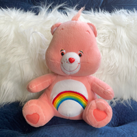 Lolly, Care Bear Love-a-Lot Teddy Bear, Adoptable
