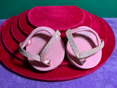 Pink Sequined Flip Flops - Build-a-Bear Resale