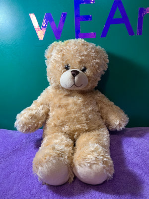 Bally, Tan Build-a-Bear Teddy Bear