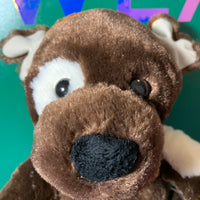Patch, Brown Build-a-Bear Dog