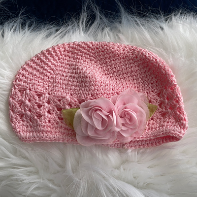 Pink Hat with Flower, Resale