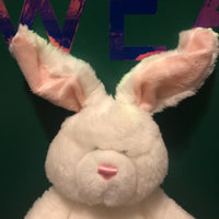 Fleece, White Bunny Gund