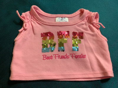 Sequined BFF Shirt - Build-a-Bear Resale