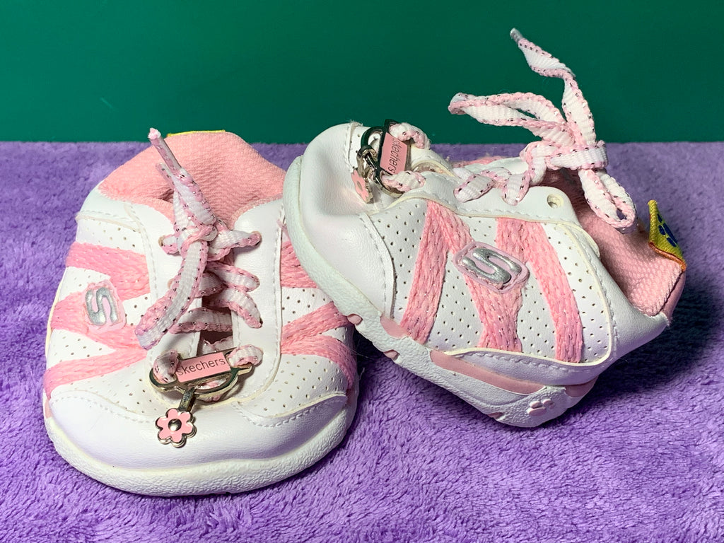 Skechers, Pink & White - Build-a-Bear Resale
