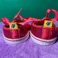Tennis Shoes, Pink Sparkly - Build-a-Bear Resale