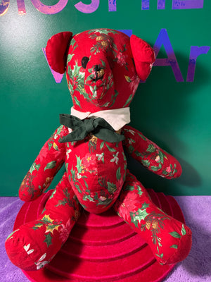 Poinsettia, Teddy Bear