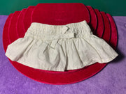 White Skirt Silver Accents - Build-a-Bear Resale