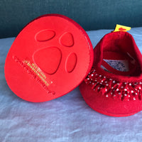 Dress Shoes Red with White Polka Dots - Build-a-Bear Resale