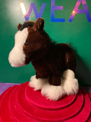 Charming, Webkinz Clydesdale Horse