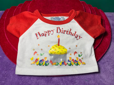 Happy Birthday Tshirt, Build-a-Bear Resale