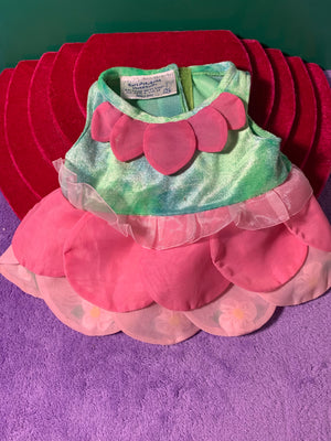 Flower Princess Costume / Dress - Build-a-Bear Resale