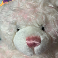 Cascade, Pink & White Build-a-Bear Teddy Bear