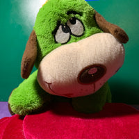 Timo, Green Puppy Dog