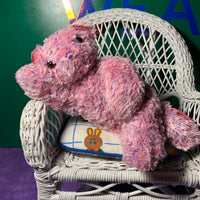Aiko, Pink and Purple Teddy Bear