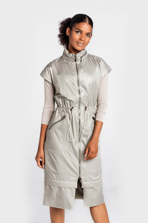 ULTIMA DRESS IN GRAY