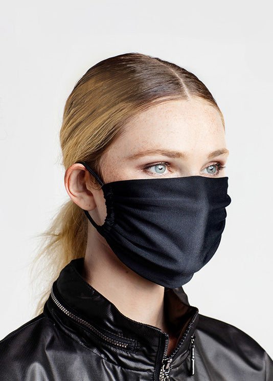 ULTIMA FACE MASK IN BLACK
