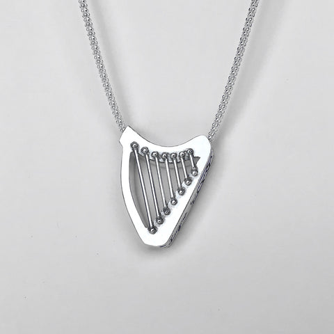 AIDEE Celtic SLIDING HARP necklace