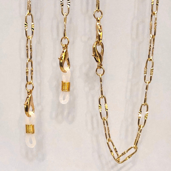 NEW! 18K Gold Plated MULTIPURPOSE NECKLACE/CHAIN
