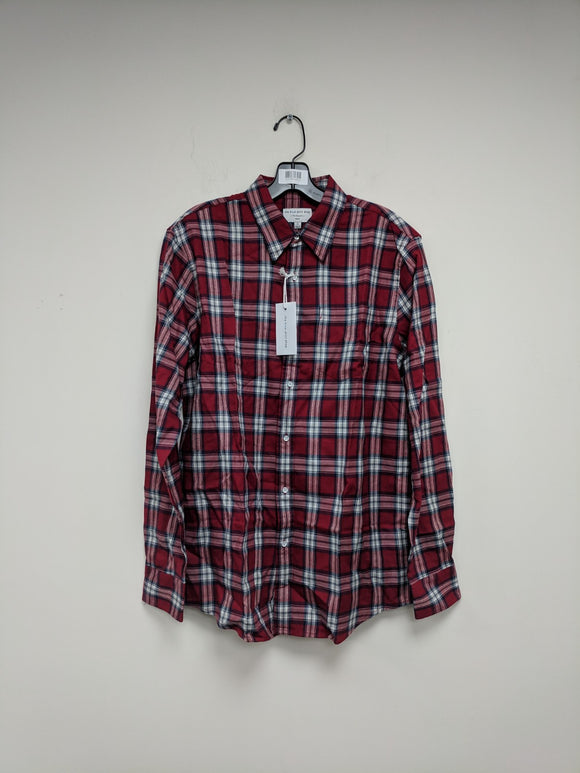 The Blue Shirt Shop 73rd & Park Plaid Men's Button Up