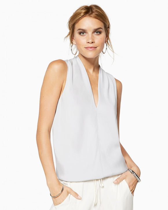 Ramy Brook Robi Sleeveless V-Neck Top