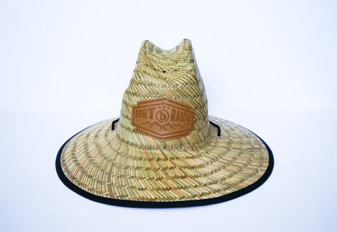 Dirt Rascals- Straw Sun Hat (Black)