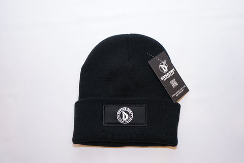 Mini Badge Fold Over Beanie