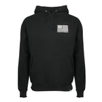 Men's Black Heavyweight Desert Hoodie
