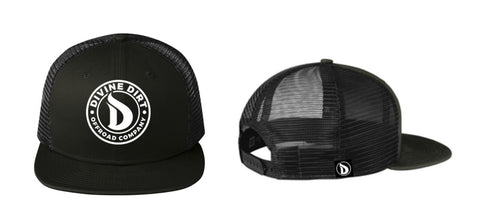 NewEra Trucker  Black SnapBack  9FIFTY