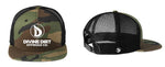 NewEra Trucker Camo Snap Back  9FIFTY