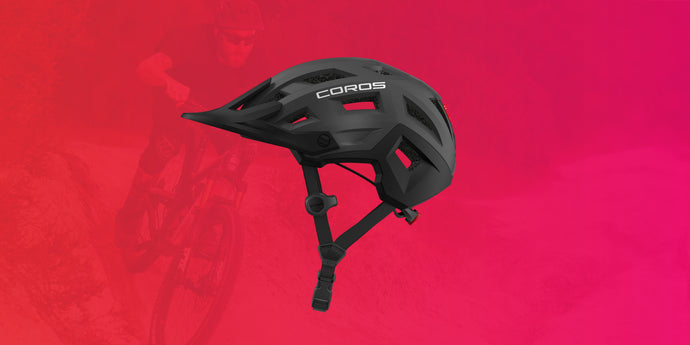 Coros Mountain EOSS Audio Platform Cycling Helmet