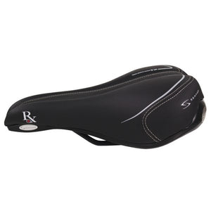 Serfas Men's Comfort Saddle with Anti-Microbial Microfiber Cover (RX-921V)