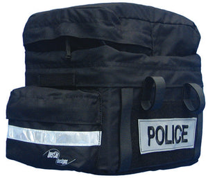 "Inertia Designs ""Police"" with Pocket and Velcro Patches Rack Trunk Bag"