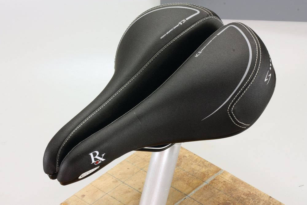 Serfas Performance RX Saddle with Anti-Microbial Microfiber Cover (MH-RX)