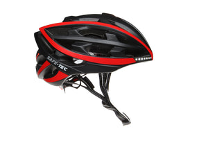 Safe-Tec TYR Bicycle Helmet with Turn Signals and Brake Lights