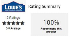 Lowe's 5 star review