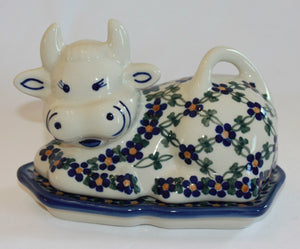 Butter Dish Cow